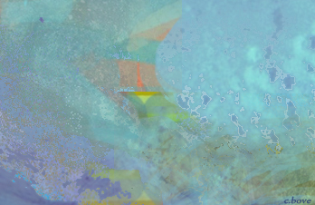 aquilone in campo azzurro - by cristina bove