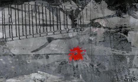 rosso e grigio - by criBo
