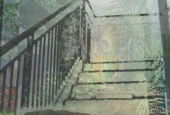 scala sul giardino - by criBo