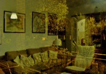 soggiorno riflesso nel giardino - 4 by Cristina Bove
