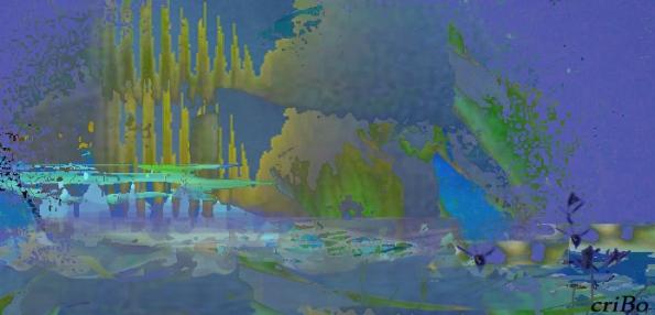 castelli nel blu - by criBo