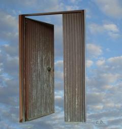 porta sul cielo - by cristina bove