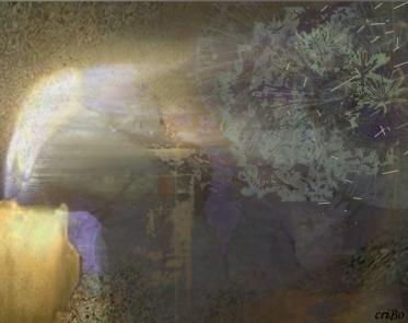 candela e soffione - by criBo