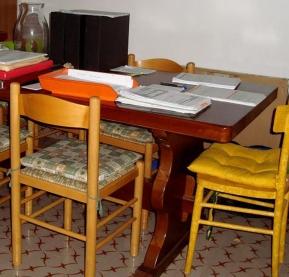sedie e tavolo - by criBo