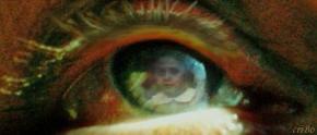 bambina nell'occhio - by criBo